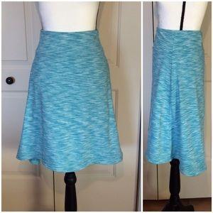 Mondetta Active Lifestyle Space Dye Hi-Lo Skirt M